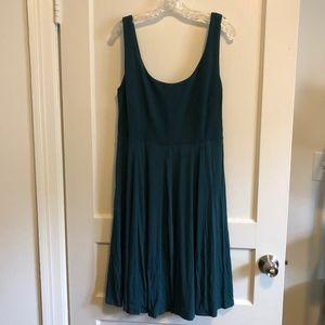 teal knit dress